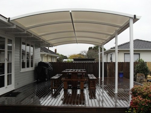 Canopy Shade - residential home