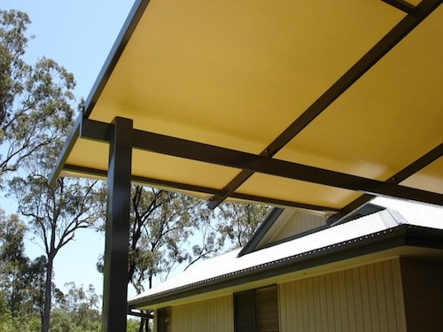 Custom Canopy for home shade
