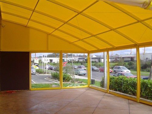 Large Canopy shade for residential home