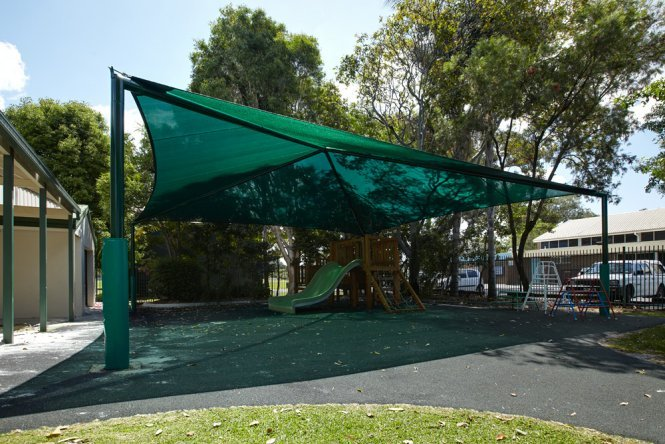 Shade solutions for playgounds