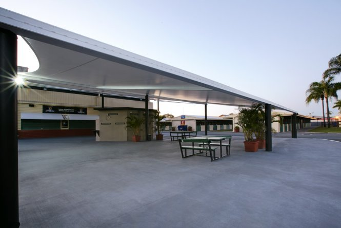 Commercial shade solutions - Tension Membranes