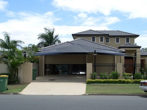 Shade Sails for Carport