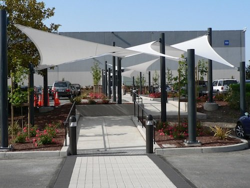 Custom Car Park Shade Sails