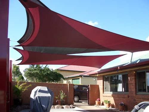 Residential Shade Sail Domestic Shade Structures For Your Home