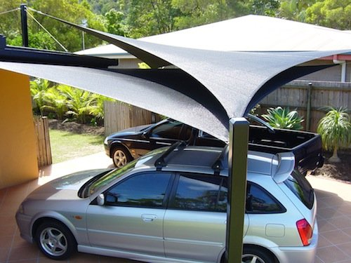Domestic Carport Shade Solution
