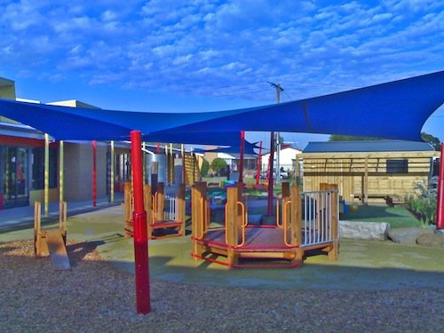 Kindergarten Shade Sails