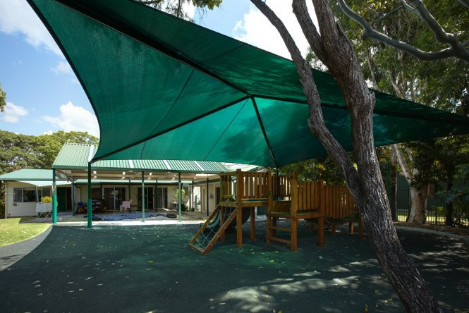 Playground Shade Sails for Kindergarten