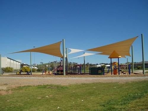 Shade solutions for playgrounds