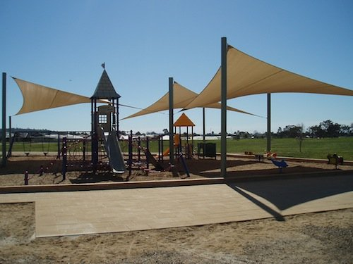 Custom playground shade solutions