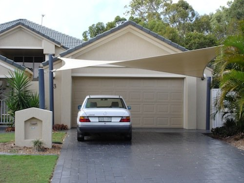 Shade sails car shade solution
