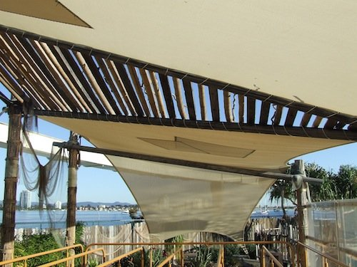 Gold Coast theme park Shade solutions