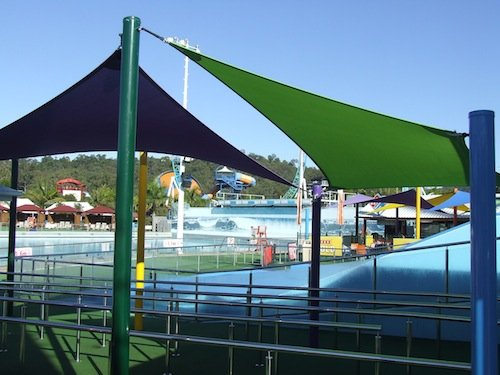 Theme park Shade on the Gold Coast