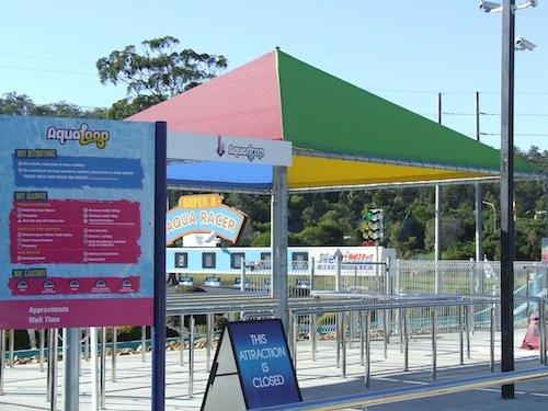 Gold Coast theme park Shade sails