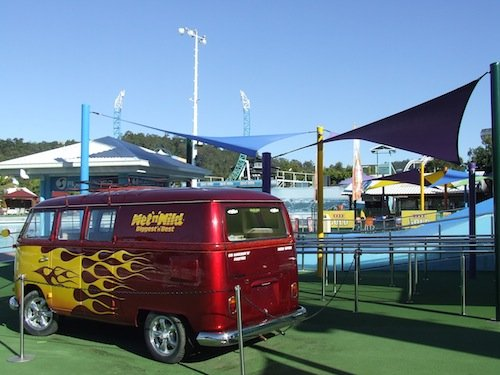 Shade solutions for Gold Coast theme parks