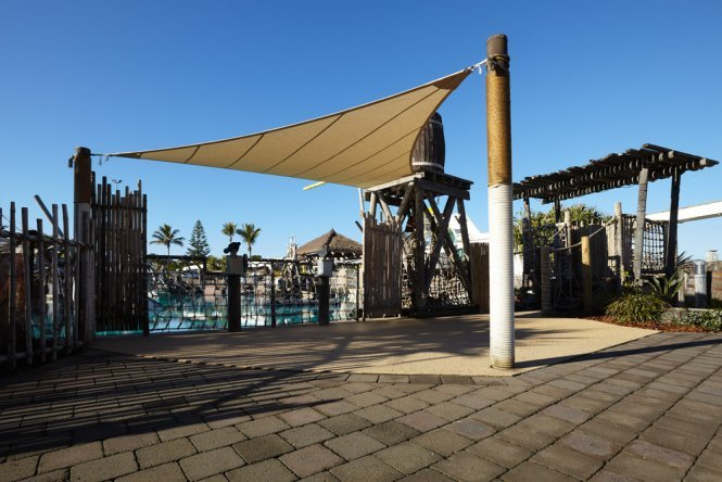Shade Sail for theme parks
