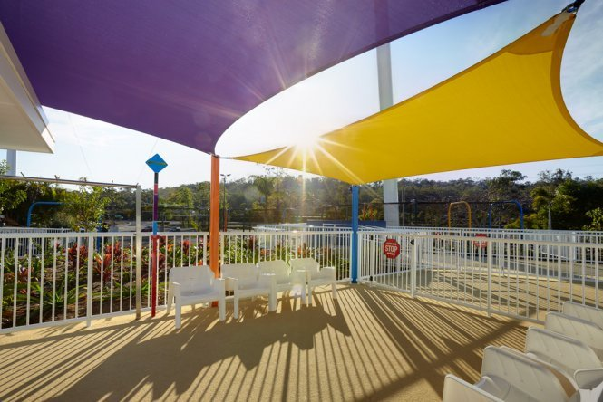 amusement park shade solutions