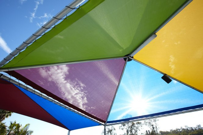 Shade Structures for Theme parks