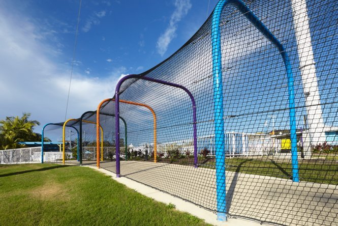 Shade solutions for amusement parks
