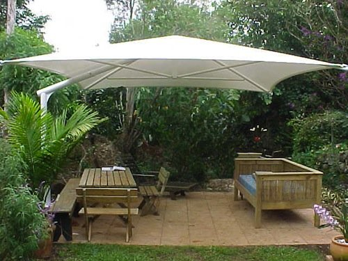Outdoor Umbrellas - backyard shade