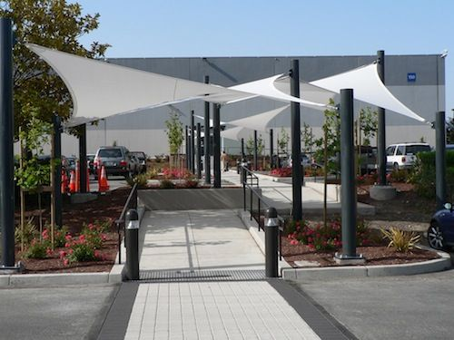 Shade Sails Shade Structures Amp Sun Shades