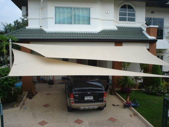 Shade Sails For Vehicles : Super cheap and effective car shade ideas global