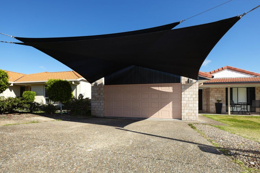 Shade Sails the ultimate car shade cover