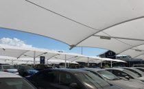 Shade Sails & Structures for Shopping Centre Car Parks