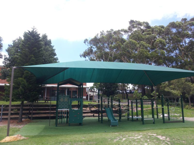 school playground shade