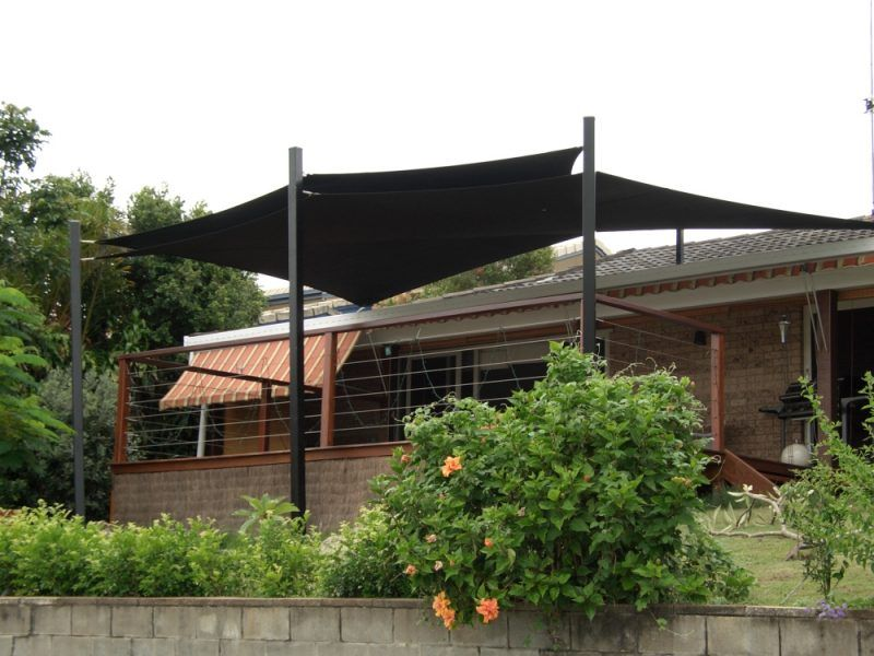 outdoor shade project