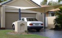 Shade Sails & Structures for Driveways